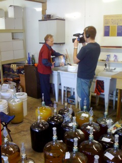 andy making wine with videographer sm.jpg
