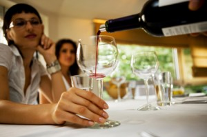 Wine Tasting - Pouring Wine