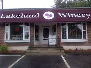 Lakeland Winery store front