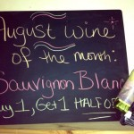 August's Wine of the Month: Sauvignon Blanc