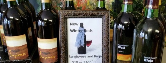 Winter Reds from Lakeland Winery